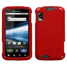 Flaming Red Hard Case Cover for Motorola Atrix 4G MB860