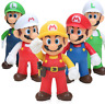 Super Mario bros Action Figures Kids Toys Games 13cm PVC Doll Model Collection