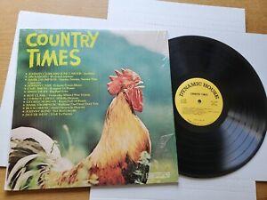 COUNTRY TIMES Compilation Johnny Cash June Carter Buck Owens Dottie West (LP)