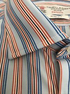 Turnbull Asser Shirt 16.5 Slim Fit Brand New