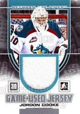 2013-14 Between the Pipes Jersey Silver #15 Jordon Cooke