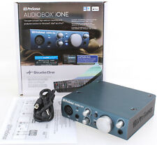 Presonus Audiobox iOne Audiointerface Soundkarte mit Studiosoftware iPad® PR163