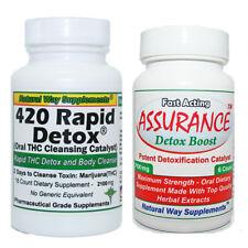 Two Day Detox - 420 Rapid Detox - Plus - Assurance Detox Boost - THC Cleanse