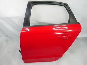 09 10 11 Audi A4 Sedan Rear Driver Left Door Assembly Complete OEM 10 11 Audi S4