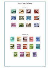 Jersey 2018 Full Colour Illustrated Stamp Album Pages on CD (343 Pages).