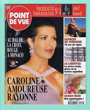 ▬►POINT DE VUE n°2560 - 1997 - Caroline de Monaco - Bal de la Croix Rouge