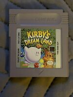 Kirby's Dream Land Authentic (Nintendo Game Boy, 1992)