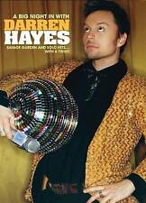 Darren Hayes: A Big Night in with Darren Hayes (DVD, 2015)