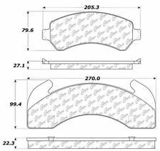 Centric Parts 300.02250 Brake Pad Set