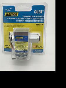 SEACHOICE Electronic Fuel Pump Kit CUBE 12V DC 4.5-3.0 PSI 30GPH 113 LPH 20341