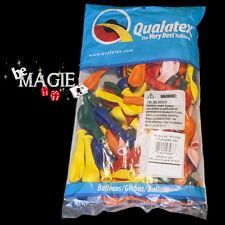 """100 Ballons Qualatex ROND 5"""" STANDARD - Magie - sac sculpture"""