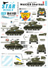 Star Decals 1/35 Coreano Guerra Tigerface Shermans #35-C1137
