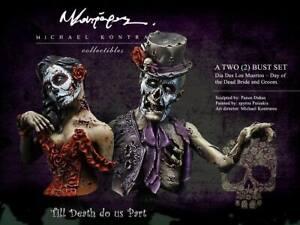 "Michael Kontraros Collectibles "" Till Death do us Part "" 2 pcs bust 1/12"