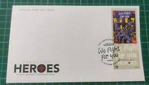 2021 Philippines Fight Virus Pandemic Medical Frontliner Heroes Stamp FDC #1
