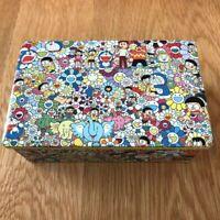 Takashi Murakami Doraemon Exhibition Kaikai Kiki Flower Cookie can From Japan