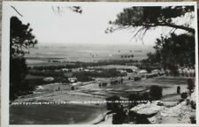 Billings, MT 1940s Realphoto Postcard-Polytechnic Institute from Airport-Montana