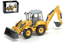 New Holland LB 115B Tractopelle Backhoe Loader 1:50 Model ROS0190 ROS