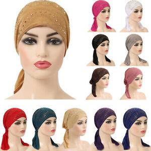 Ramadan Women Muslim Hijab Inner Cap Islamic Underscarf Scarf Hat Arab Headwear
