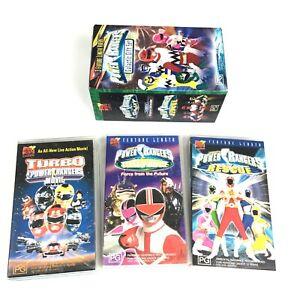 Power Rangers Galactic Gift Set. 3 Movie Set. VHS Video Tape