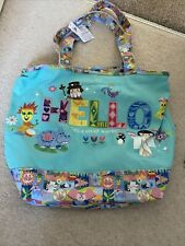 Disney Parks Its A Small World Canvas Tote Bag