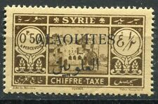 ALAOUITES SYRIE TIMBRE COLONIE FRANCE  NEUF N° 6  **  TAXE
