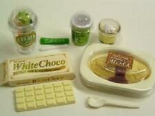 Re-ment miniature #35 omelet vegetable stick pudding tea white chocolate