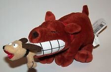 Vintage Dog Eat Dog Meanie Babies Twisted Toys Plush - Series 3