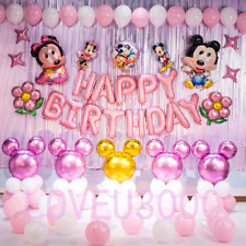 Minnie Mouse Birthday Party Decorations Minnie Mouse Balloons Party Supplies