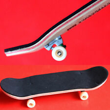 1pcs 96mm Wooden Deck Fingerboard Skateboard Sport Games Series D42