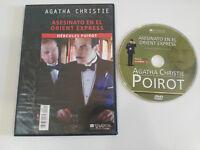 ASESINATO EN EL ORIENT EXPRESS AGATHA CHRISTIE DVD + EXTRAS SLIM ESPAÑOL ENGLISH