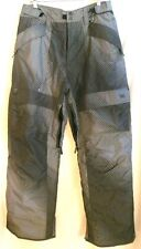 Body Glove Ski/Snowboard Pants Men's L 35X33 Gray Multi Insulated Lined EUC