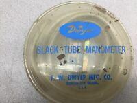 NEW IN PACK DWYER SLACK TUBE MANOMETER 1211-36