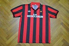 ADIDAS vtg AC Milan 1990-1991 Mediolanum soccer vintage retro maglia trikot 90´s