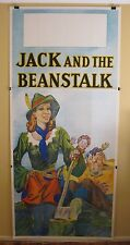 JACK & THE BEANSTALK  World War II era original vintage English theatre poster