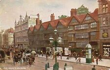 LONDON - Old Houses - Holborn 1906 Vintage Postcard (348)