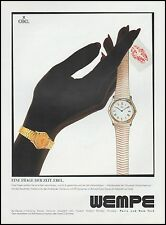 Publicité Montre EBEL  Watch photo vintage print ad  2002  - 4h