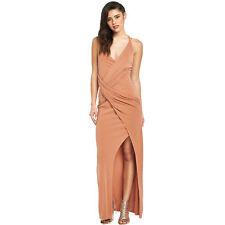 Lipsy Fleur East Nude Maxi Dress 10