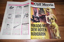 Cliff Morris Thriller # 87 -- Mikado with the Red Mandarin // 1968
