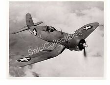 WWII US Navy Aircraft Photograph USS Vought Corsair F4U Official Photo 8x10