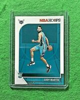 CODY MARTIN ROOKIE CARD CHARLOTTE HORNETS 2019-20 PANINI NBA HOOPS BASKETBALL RC