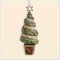 Hallmark Keepsake Ornament Yuletide Harmony Collection - A Christmas Tree