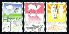 1976 Netherlands SC# 382-384 - Agriculture and Fishing in Netherland - M-H