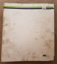 DEUTZ FAHR AGROTRON MK.3 80-165 TRACTOR SERVICE TRAINING MANUAL