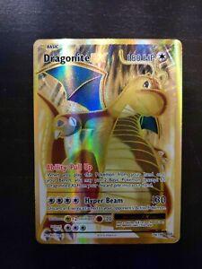 Pokemon XY Evolutions Dragonite EX Full Art Ultra Rare 106/108 Mint #1