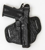 On Duty Conceal RH LH OWB Leather Gun Holster For Colt 1911 5""