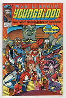 Youngblood #1 (Apr 1992, Image) Flip-Book [Bound-In Trading Cards] Rob Liefeld