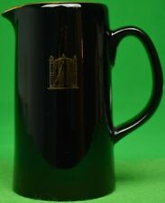 """21"" Club New York 'Iron Gate' Black Water Pitcher"