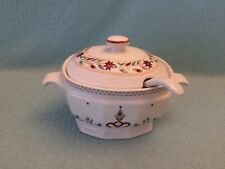 Vintage American Scenic Soup Tureen By Raintree w/ Lid & Ladle SUPER CLEAN LN