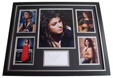 Katie Melua SIGNED Framed Photo Autograph Huge display Music AFTAL COA