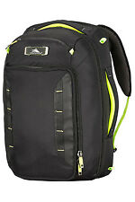 NEW High Sierra AT8 Convertible Carry On 56cm Black/Zest